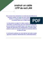 Como Construir Un Cable Cruzado UTP de Red LAN