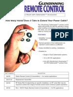 Cablemaster CM - Remote Control Brochure