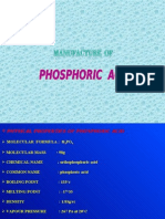 flow charts for Phosphoric Acid