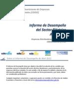 CDEEE, DomRep, Informe de Desempeno del Sector Eléctrico, 4-2012