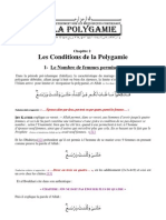 02 - Les Conditions de La Polygamie
