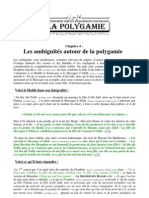 04 - Les Ambiguïtés Autour de La Polygamie