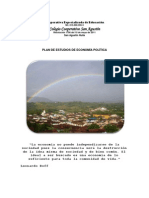 Plan de Estudios Economía Política_Colegio Cooperativo San Agustín