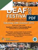 Deaf Festival 2012