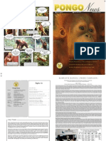 Buletin PONGO News - Orangutan Information Centre Edisi I - 2009
