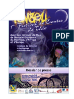 Festival du conte de Thio Tëmbeu