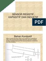 Sensor Resistif, Kapasitif Dan Induktif