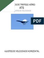 04-SERVIÇOS DE TRÁFEGO AÉREO (4) - Ajustes de Velocidade