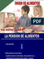 Tema 3. La Pension de Alimentos