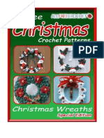 5 Free Christmas Crochet Patterns Crochet Christmas Wreaths eBook