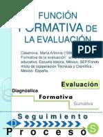 FUNCIÓN FORMATIVA DE LA EVALUACIÓN