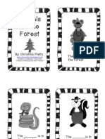 Animals In The Forest~grey scale