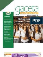 Gaceta 291- 12 Agosto 2012