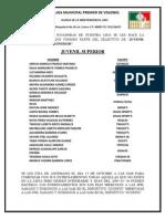 Lista de las Selectivas Juvenil Superior.