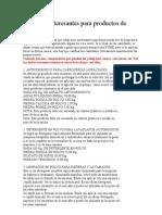 100745862 Formulas Interesantes Para Productos de Limpieza