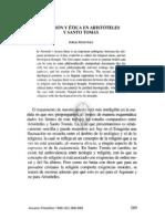 11. RELIGIÓN Y ÉTICA EN ARISTÓTELES Y SANTO TOMÁS, JORGE MARTÍNEZ