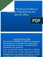 Norm Tecnic Acc Prevent Salud Oral