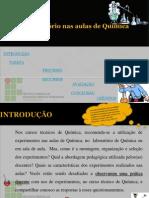 Webquest Uso Do Laboratorio No Curso Tecnico