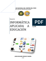 manual de informática aplicada a la educación