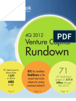 Pitchbook-4Q 2012 VC Rundown FINAL