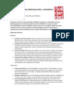 PROGRAMA TERRITORIAL FÍSICA-MATEMÁTICAS