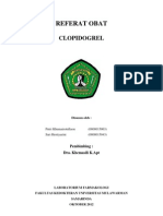 Referat Obat Clopidogrel