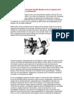 Calma Motora según Concepto Castillo Morales como un aspecto de la comunicación basal y evaluaciones