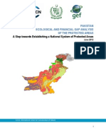 Final Draft Report- Ecological and Financial Gap Analysis of Protected Areas in Pakistan