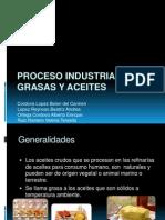 Proceso Industrial de Grasas y Aceites