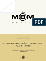 PLANEAMENTO ESTRATÉGICO DE MARKETING MBM MOBILE - TESE