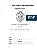 CS2406 OS Lab Manual