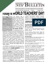 Parents Bulletin No. 14, s. 2012