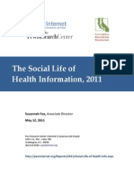 Healthcare Rating Sites and  Online Influence Lifecycle