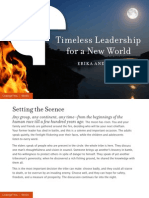 Timeless Leadership for a New World [Issue 99]