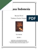 b. Indonesia Resensi Novel