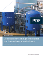 Condensate Polishing Solutions for the Power Generation Industry