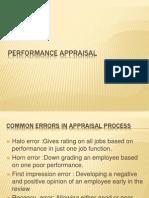Performance Appraisal 8