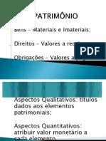 O PATRIMÔNIO
