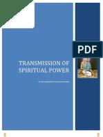 Transmission of Spiritual Power