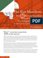 The How Manifesto