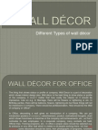 WALL DÉCOR FOR OFFICE ------