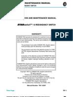 Starswitch O&M Manual