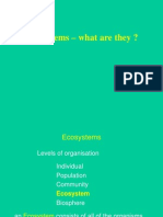 L01- Ecosystems-what Are They