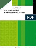 Guia d'Intervenció Clínica  en el consum de tabac  en pacients amb trastorn mental (www.camfic.cat)
