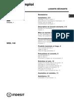 Manual Indesit W145tx - Franceza