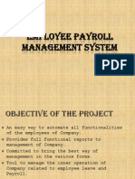 Employee Payroll and Leave Management