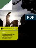 Kemiska bekämpningsmedel i jordbruket. Sveriges miljökrav i jämförelse med några andra EU-länder