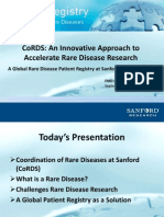 Coordination of Rare Diseases at Sanford