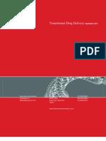 Transdermal Drug Delivery - Sept 12