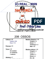 Anatomia do Crânio